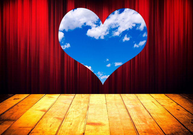 shutterstock_stage with sky heart