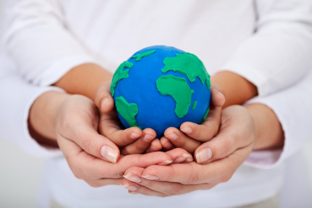 shutterstock_the world in our hands